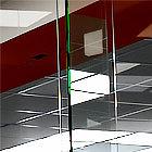 раздвижная стеклянная дверь гармошка