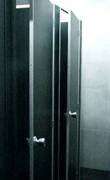 Туалетные кабины в алюминиевом профиле