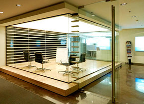 цельностеклянная стационарная под стекло 8 или 10 мм